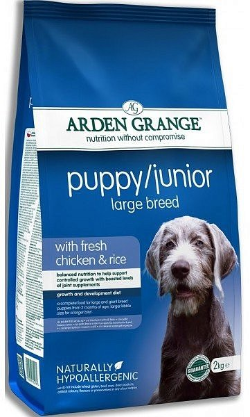 Сухой корм Arden Grange Dog Puppy/Junior Large Breed для щенков и молодых собак крупных пород